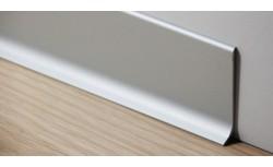 Aluminium plint 40x10 mm Geanodiseerd