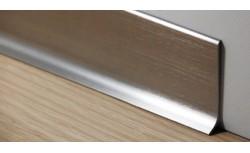 Aluminium plint 40x10 mm Geborsteld
