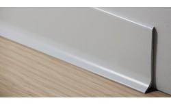 Aluminium plint 60x10 mm Gepolijst