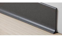 Aluminium plint 60x10 mm Gerookt