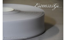 Zachte PVC plint 70 mm (Licht Grijs)