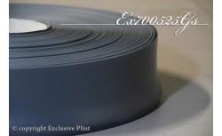 Zachte PVC plint 70 mm (Donker Grijs)
