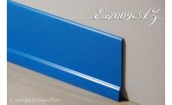 Harde pvc plint 70 x 9 mm (Blauw)