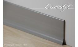 Harde pvc plint 70 x 9 mm (Licht Grijs)
