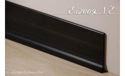 Harde pvc plint 70 x 9 mm (Zwart)