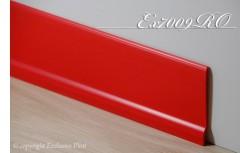 Harde pvc plint 70 x 9 mm (Rood)