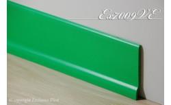 Harde pvc plint 70 x 9 mm (Groen)
