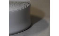 Zachte PVC plint 70x22 mm (Licht grijs)
