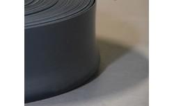 Zachte PVC plint 70x22 mm (Zwart)