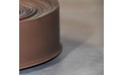 Zachte PVC plint 70x22 mm (Walnoot)