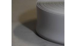 Zachte PVC plint 95x27 mm (Licht Grijs)