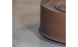Zachte PVC plint 95x27 mm (Walnoot