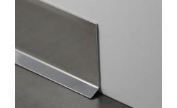 RvS plint 40x10 mm gepolijst