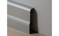 Aluminium plint 70x18 mm Geanodiseerd