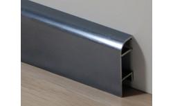 Aluminium plint 40x14 mm Geborsteld